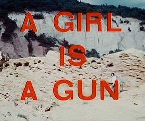girl, gun, and quotes image