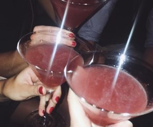cosmo, cosmopolitan, and drink image