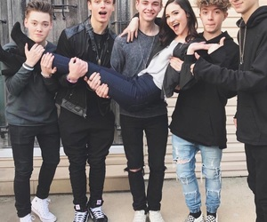 christina marie, why don't we, and jonah marais image