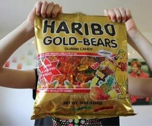 haribo, bear, and candy image