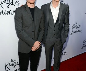 red carpet, nick robinson, and the king of the summer image