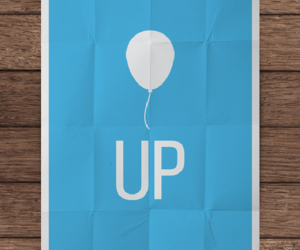 baloon, wood, and blue image