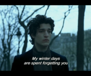 winter, forget, and quotes image