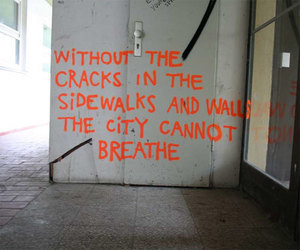quotes, city, and wall image