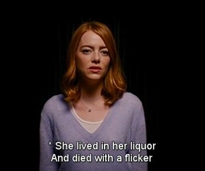 emma stone, movie, and sad image