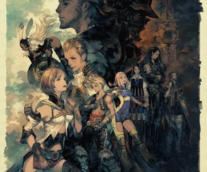 art, drawing, and final fantasy image