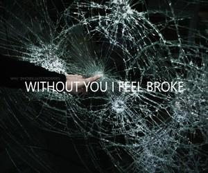 broke, grunge, and Lyrics image