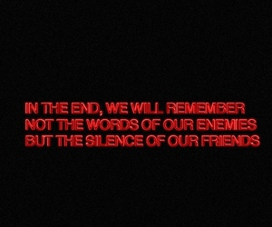 quotes, friends, and black image