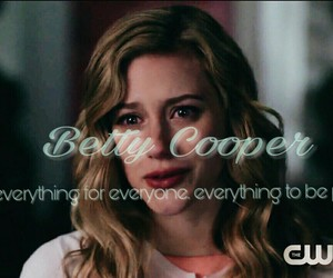 edit, riverdale, and betty cooper image