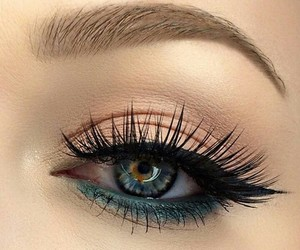 cosmetics, make-up, and eyelash image