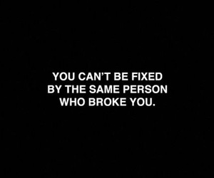 broke, quote, and fixed image