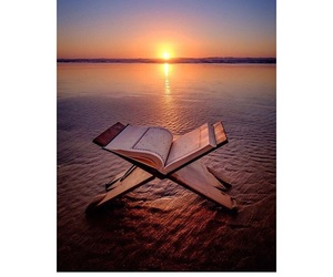allah, beauty, and book image