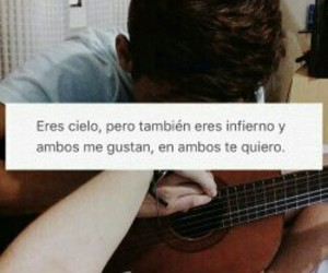 frases, spanish, and love image
