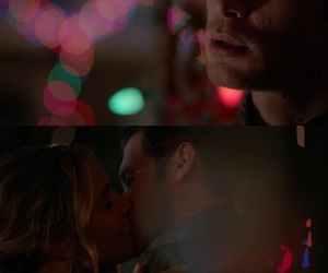 first kiss, tvd, and klaus mikaelson image