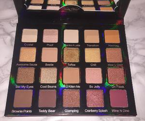 eyeshadow, palette, and violet voss image