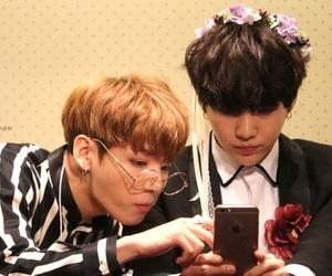 bts, jungkook, and min yoongi image
