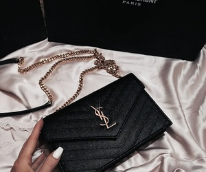 bag, luxury, and YSL image