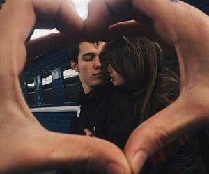 boyfriend, couple, and heart image