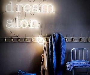 Dream, light, and neon image