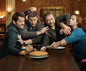 supernatural, Jensen Ackles, and castiel image