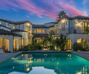 dream house, goals, and good life image