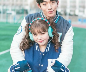 nam joo hyuk, kim bok joo, and weightlifting fairy image