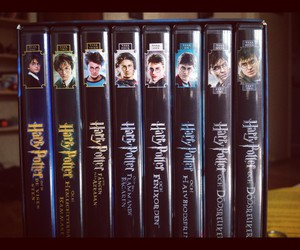collection, dvd, and harry potter image