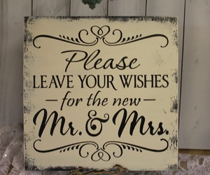 sign, dream wedding, and guest book image