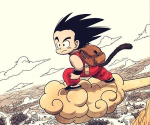 goku, dragon ball, and manga image