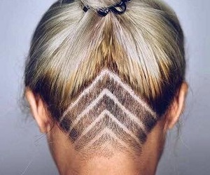 hair and undercut image