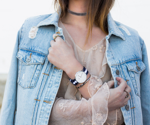 blogger, fashion, and watch image