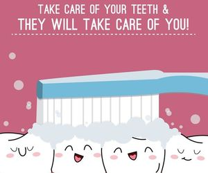 beautiful, teeth, and care image