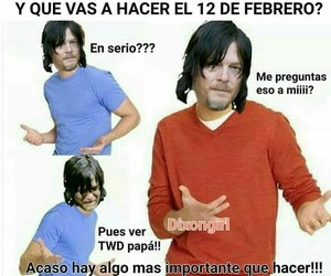 daryl, twd, and the walking edad image