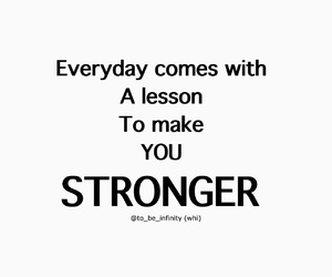 lesson, quote, and strong image
