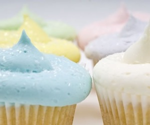 cupcakes, pastels, and food image