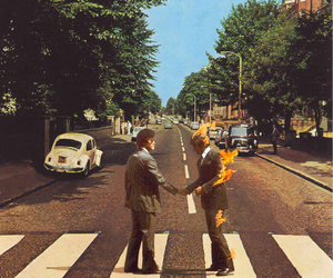 Pink Floyd, abbey road, and the beatles image