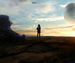 fantasy, space, and planets image