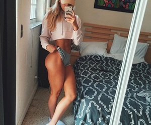 abs, booty, and goals image