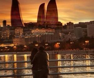 couple, baku, and azerbaijan image