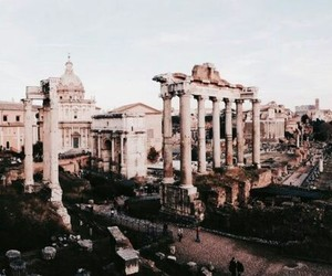 travel, rome, and architecture image