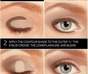 beauty, everyday, and eye make up image