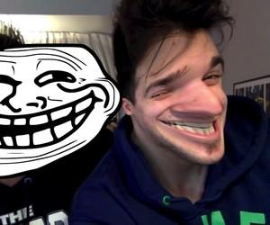 troll, youtube, and mahe image
