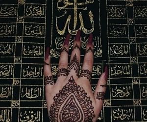 arabic, hand art, and henna image