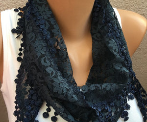 etsy, cowl scarf, and women fashion scarf image