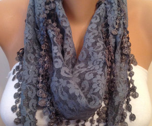 etsy, bridesmaid gift, and cowl scarf image