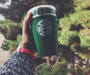 cup, school, and starbucks image