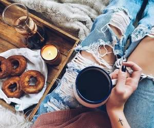 food, coffee, and comfy image