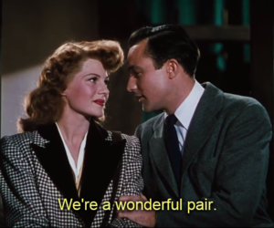 Gene Kelly, rita hayworth, and ️covergirl image