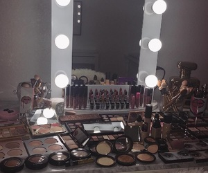 makeup, mirror, and room image