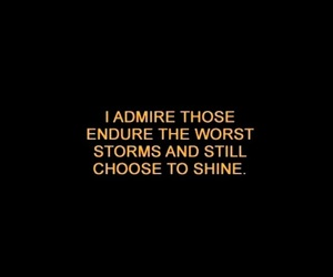 quote, black, and shine image